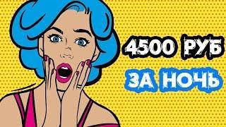 Самый быстрый заработок в интернете 4500 руб за одну ночь
