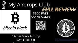 Bitcoin Black Airdrop get Free $36? Scam vs Legit? Review Cara dan Syaratnya