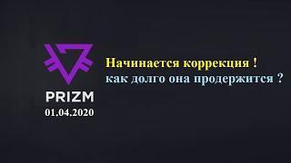 Криптовалюта PRIZM / технический анализ на 01.04.2020
