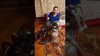 Видео отзыв о доильной мини-системе (Турция) покупка от 17.12.2019 Якутия