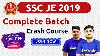 "SSC JE 2019 | Complete Course Tech/Non-Tech | Use Promo Code ""wifistudy"" & Get 10% Off, Join Now"