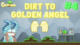 Growtopia   Dirt to Golden Angel #4 - NEW PROJECT! (GOOD MASS)