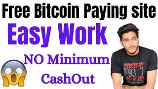 Legit Free Bitcoin Paying site || Earn bitcoin Without Investment By Easy Work