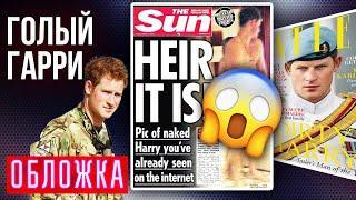 Голый Гарри. Скандалы с участием детей политиков. Обложка