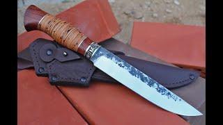 Охотничий нож Лиса 95х18, отзыв о ноже.