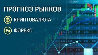 Прогноз рынка форекс и криптовалют! Доллар укрепляется?  Стоит ли покупать биткоин?