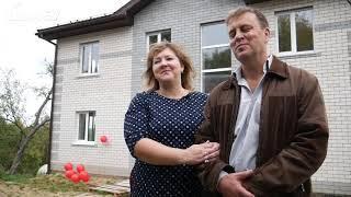Видео отзыв о компании Дом67 — строительство домов в Смоленске — объект Пискарихинский.