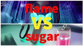 Awen flame VS Awen sugar ( ИВАНГАЙ )