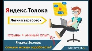 ЗАРАБОТАЙ НА ЯНДЕКСЕ 1200 РУБЛЕЙ ЗА ЧАС БЕЗ ВЛОЖЕНИЙ   Яндекс Толока Заработок Отзыв
