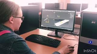 """Этап создания миньона на курсе """"3D моделирование и анимация"""" — с Людмилой"""