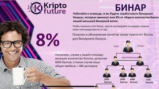 Компания KriptoFuture лохотрон скам пирамида