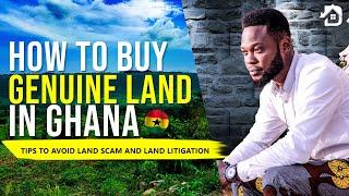 How you can avoid land scam and buy genuine lands in Ghana