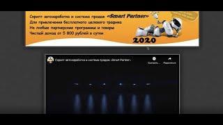 Видеообзор. Курс  Скрипт автозаработка и система продаж « Smart Partner»