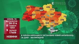 Коронавірус в Україні: статистика за 24 червня