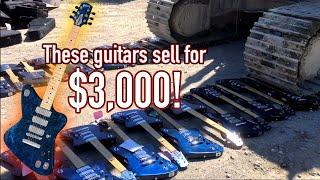 Why would Gibson Destroy HUNDREDS of Guitars?!