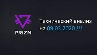 Криптовалюта PRIZM / Технический анализ на 09.03.2020