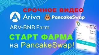 Прогноз Криптовалюты - Аriva Token - Фарм На Pankace Swap - Пул ARV-BSW - LP Токен Как Создать