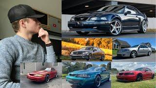 How I've Owned A Lincoln MKZ, Mercedes C-Class, and FOUR Mustang Gt's in Only One Year!!!