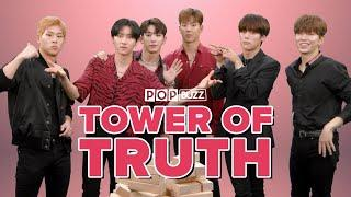 Monsta X Reveal Their Secrets In The Tower Of Truth | PopBuzz Meets