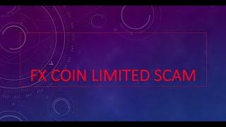 FXCOIN Limited SCAM BEWARE