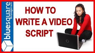 Video Marketing Tips : How To Write A Corporate Video Script