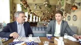 Евгений Лебедев берет интервью у Сергея Ильясова
