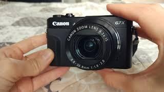 Мой отзыв о Canon g7x mark 2