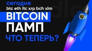 Прогноз цены на биткоин сегодня 23 июня! Памп на рынке криптовалют! Разбираем ситуацию подробно!