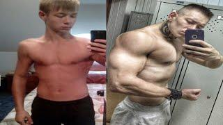 Натуральная Трансформация Тела за 3 года / Natural Transformation 3 years old Bodybuilding