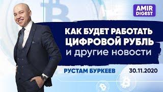 Amir Digest за 30.11.2020. Новости фонда Amir Capital. Обзор и новости рынка криптовалют.