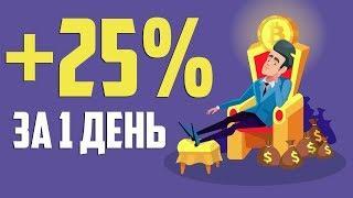 НОВЫЙ ПРОЕКТ, ПЛАТЯЩИЙ ПО +25% КАЖДЫЙ ДЕНЬ! ОБЗОР ФАСТ ХАЙПА ROBO-INVEST! ШАНСЫ ЕСТЬ!
