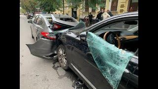 З місця події: у Києві водій знепритомнів і протаранив авто попереду