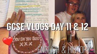 GCSE VLOGS DAY 11 & 12 | BIG NEWS... | ENGLISH LANG + HISTORY.