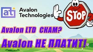 Avalon LTD не платит. Avalon technologies вся правда! Avalon ltd Отзывы !! АВАЛОН технолоджис скам?