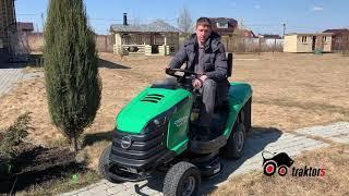 Отзыв о покупке трактора Caiman Rapido 2wd
