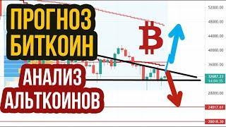 Прогноз БИТКОИН и Анализ альткоинов! Что ждать от криптовалют btc и eth в конце ИЮНЯ