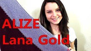 Пряжа ALIZE Lana Gold Classic. ОТЗЫВ О ПРЯЖЕ. #SM