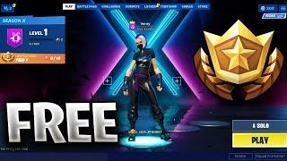FREE SEASON 10 BATTLE PASS for PC PS4 XBOX iOS Android NS ✅ Free Battle Pass Fornite!