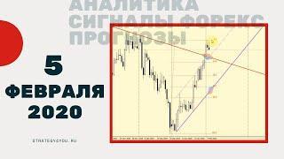Прогноз курса EURUSD (+9 пар) - 5 ФЕВРАЛЯ 2020 + сигналы, обзоры, аналитика форекс | Strategy4you.ru