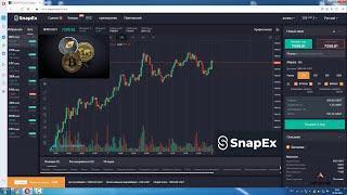 Как форекс трейдеру начать торговлю криптовалютой : обзор платформы SnapEx. Плечо до 100X