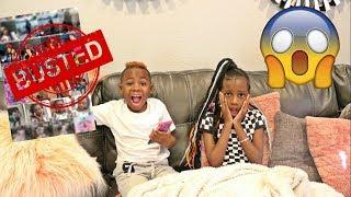 Reacting to Sister's  Camera Roll (shocking)