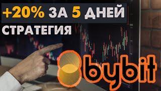 Биткоин прогноз! Как торговать биткоин 20% за неделю. Биржа ByBit