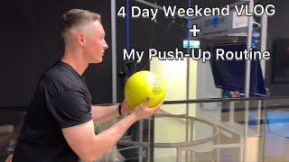 My Push-up Routine To Max The APFT | 4 Day Weekend VLOG