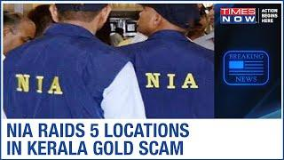 NIA conducts raids in Kerala gold scam case; electronic devices & documents recovered
