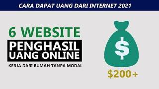 Dapat Uang Ratusan Dolar 6 Website Penghasil Uang Kerja dari Rumah Tanpa Modal HALAL