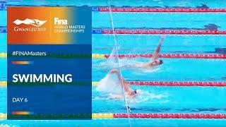 RE-LIVE  Swimming Day 6   Main Pool  FINA World Masters Championships 2019