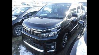 Toyota Noah Hybrid ZS .Комфортный и красивый минивэн .Отзыв о компании PRIORITY AUTO 44.