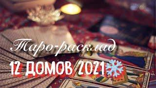 Таро-расклад 12 ДОМОВ❄️ Гадание онлайн | Таро расклад | Мириам таро | tarot reading