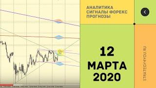 Прогноз курса EURUSD (+9 пар) на 12 МАРТА 2020 + сигналы, обзоры, аналитика форекс | Strategy4you.ru