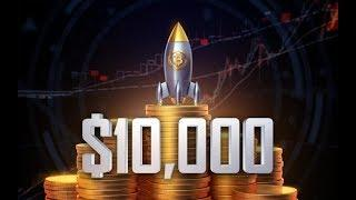 БИТКОИН $10 000 (+40% роста), А КУДА ДАЛЬШЕ?